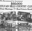 Sylvan Hills Country Club Ad