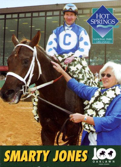 Oaklawn Park Racetrack Trading Card