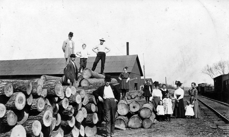 St. Paul: Railroad Timber