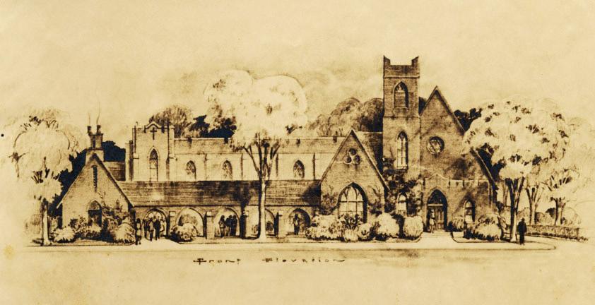 Fayetteville: Episcopal Church Rendering
