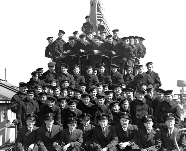 USS Razorback Crew