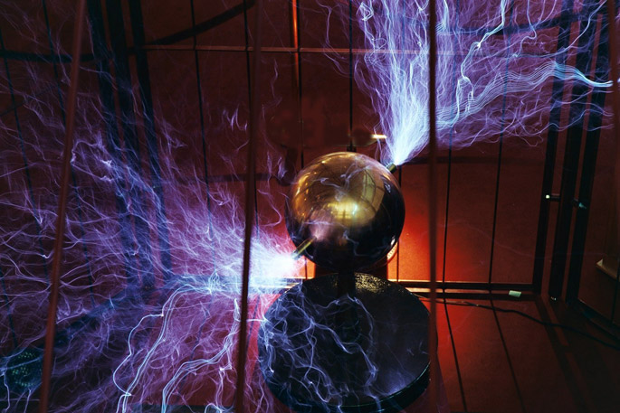 Tesla Coil at Mid-America Science Museum