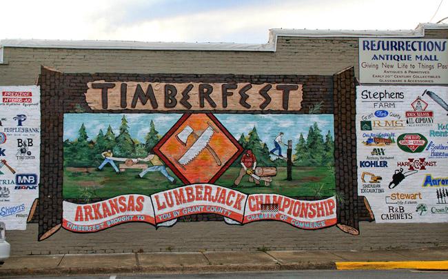 Timberfest Mural
