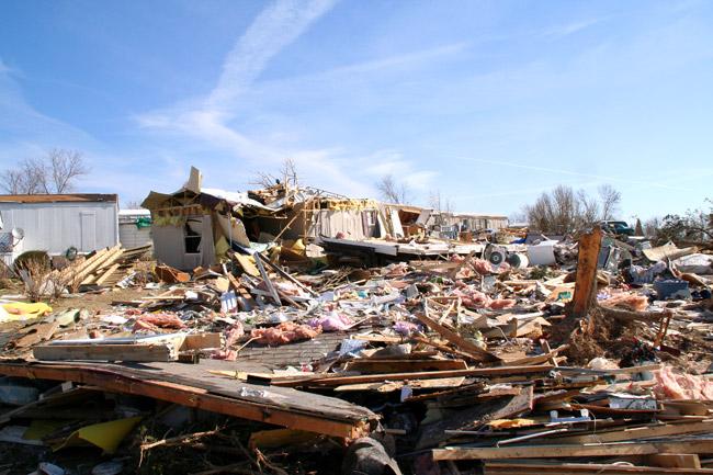 Gassville Tornado Damage, 2008