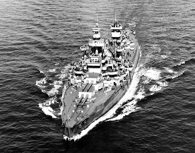 USS Arkansas BB-33