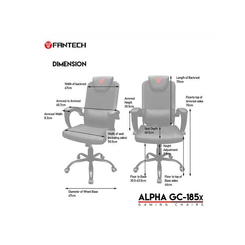 FANTECH Alpha GC-185X Gaming Chair 7