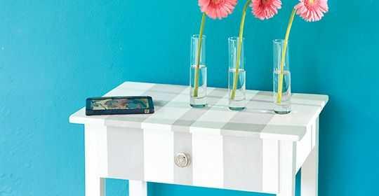 Renovar su mesa es muy sencillo