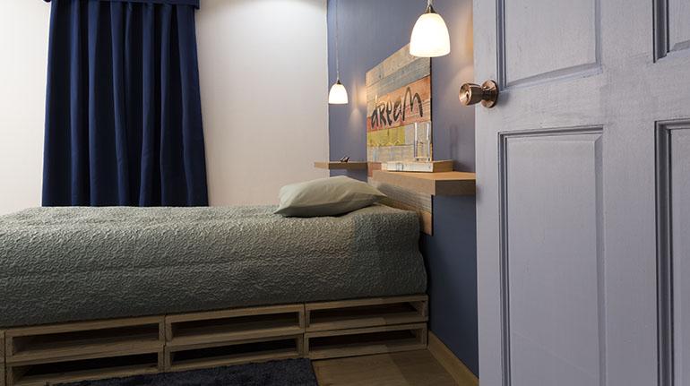El azul en sus diferentes tonos es una excelente opción para su cuarto | Ferretería EPA