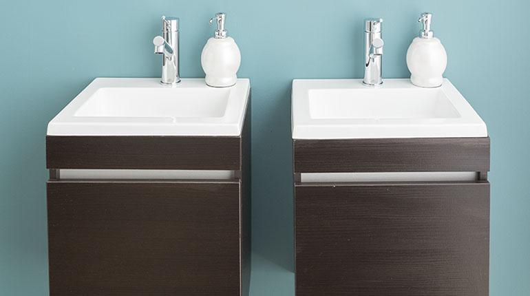 Unos muebles terminan de complementar su baño   Ferretería EPA