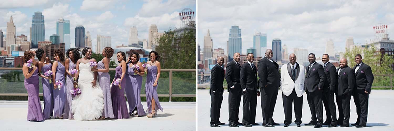 Chic Union Station KC Wedding