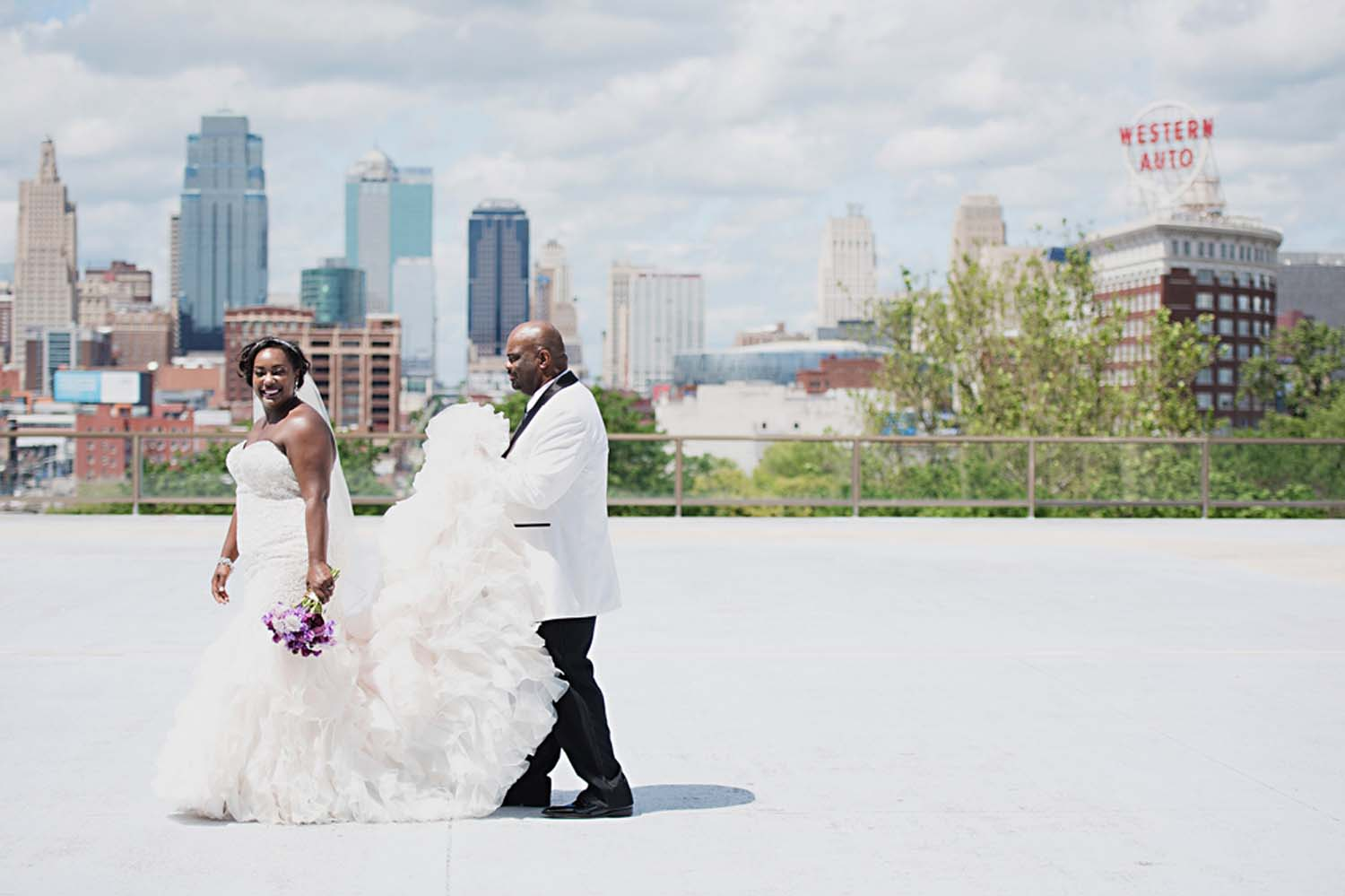 Chic Union Station KC Wedding