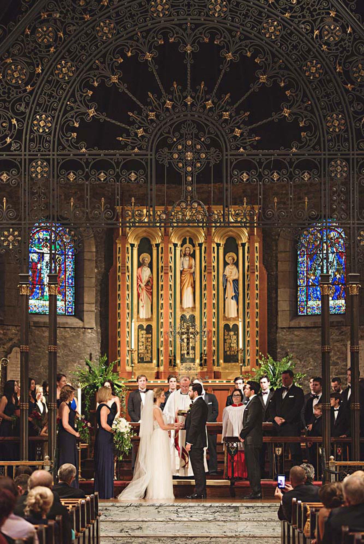 art inspired wedding at the Midland Theater - Kansas City