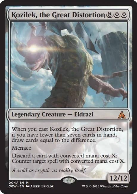 Magic The Gathering New Kozilek New Basic Land From Oath Of The Gatewatch Revealed on Fantasy Reality Card Sort