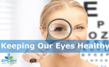 Keep our eyes healthy