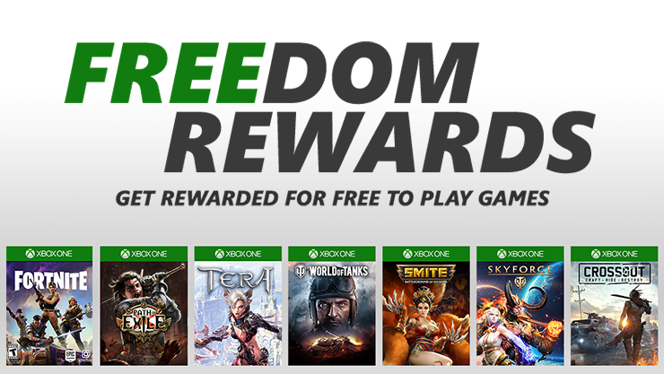 Get rewarded for Free to Play games