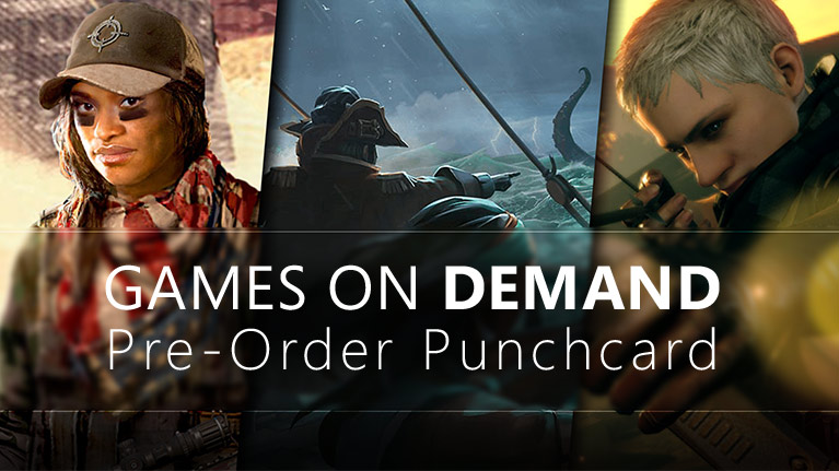 Punch it up with digital pre-orders