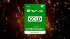 12-Month Xbox Live Gold Subscription (ARV: £47.99)