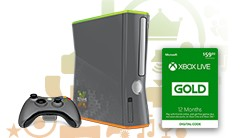 Limited Edition Xbox Live 10-Year Anniversary Console + 12-Month Xbox Live Gold Membership Bundle (ARV: £400)