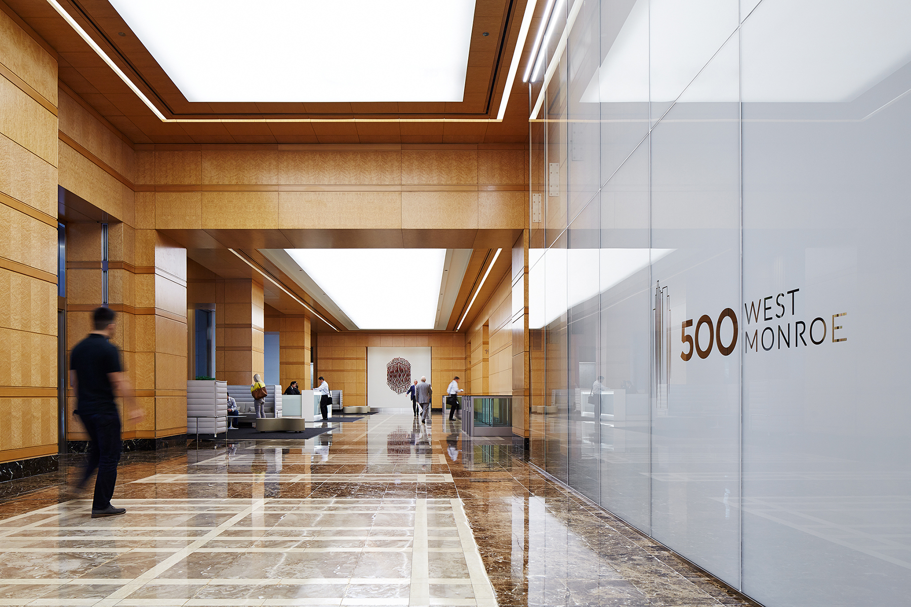500-West-Monroe-Chicago-Illinois-Lobby-H