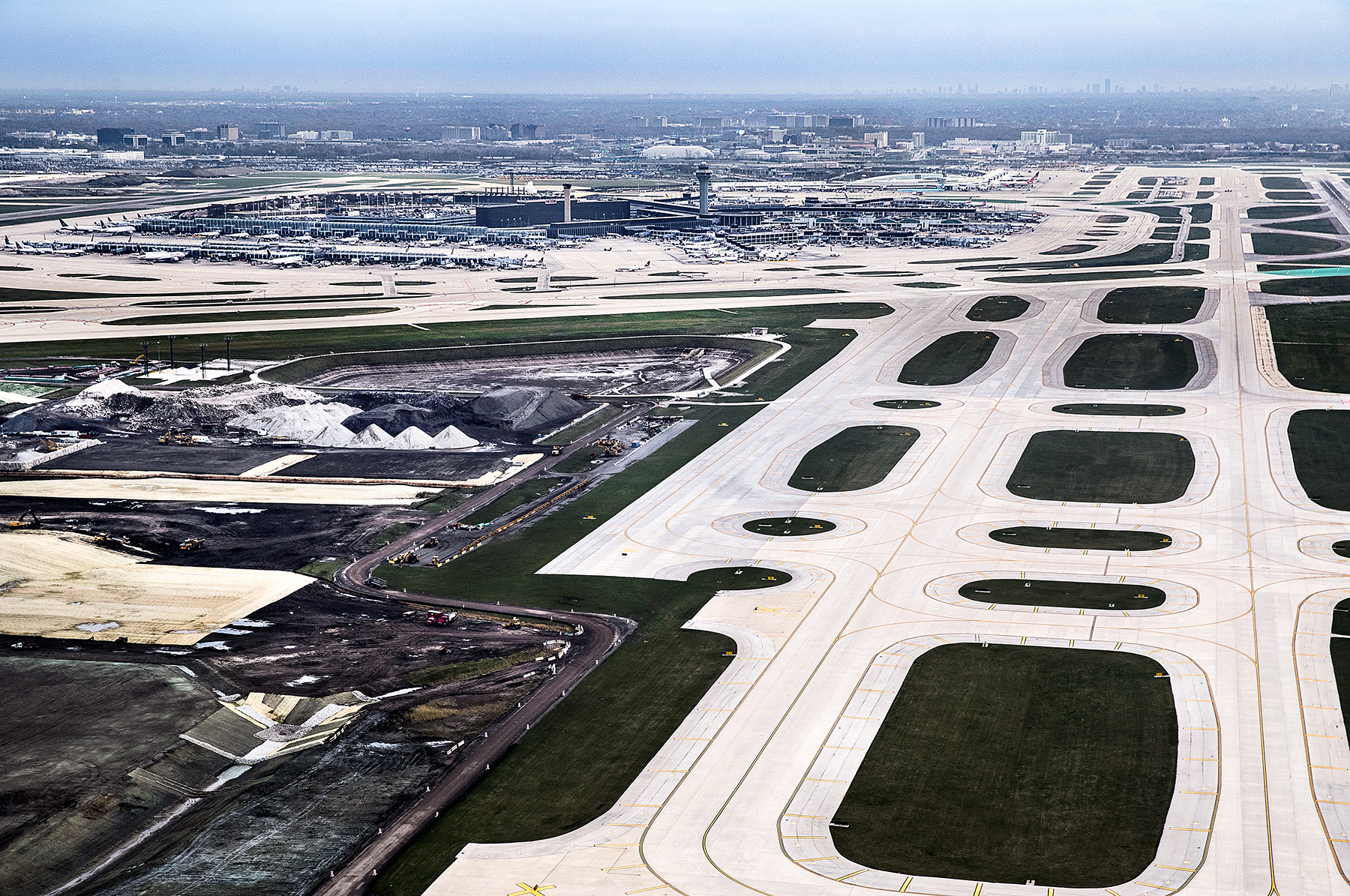 O'Hare International Airport Taxiways K&L | Epstein