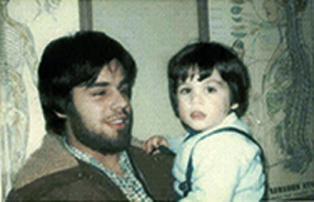 toddler dr david j doperak and dad