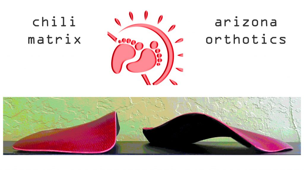 chili matrix custom foot orthotics