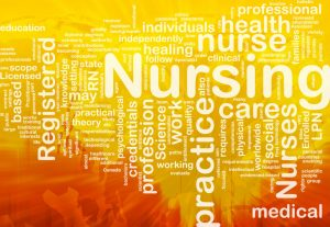 Nursing picture with associated text