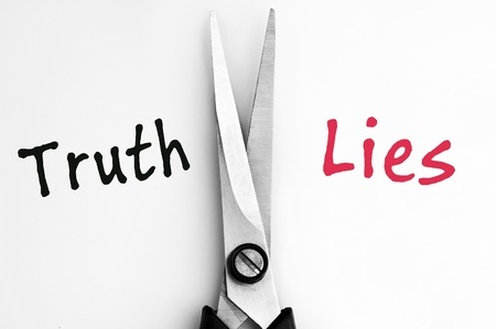 truth vs lies picture