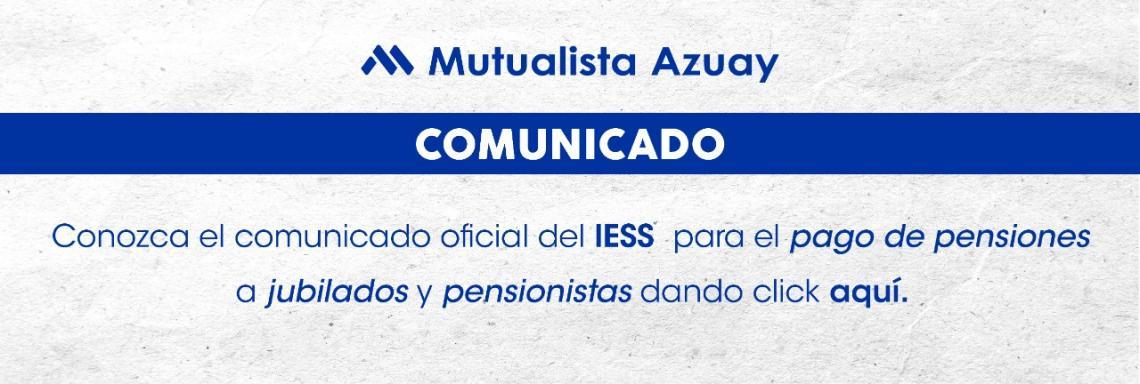 Comunicado IESS