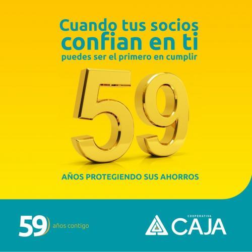 59 AÑOS PROTEGIENDO SUS AHORROS