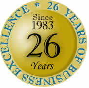 26 years of business excellence