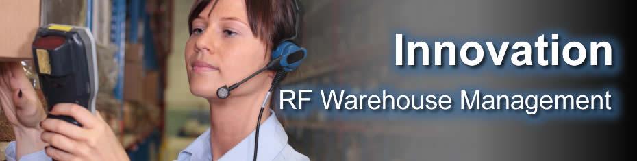RF Guns Warehouse Management in ERP SAAS