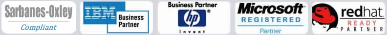 Business Partners, Hewlett-Packard, Microsoft, IBM, RedHat Linux