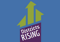 Districts Rising logo