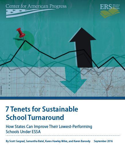 7 Tenets for Sustainable School Turnaround