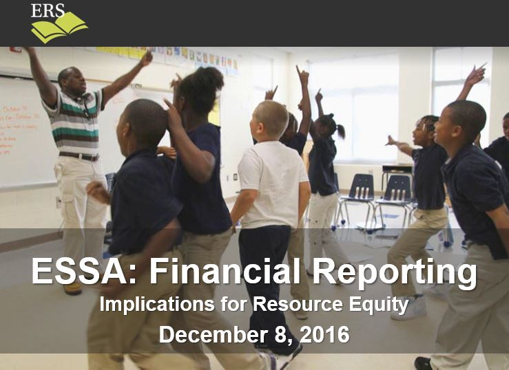ESSA financial reporting webinar title image
