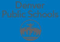 Dps logo blue background
