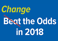 Change the Odds in 2018