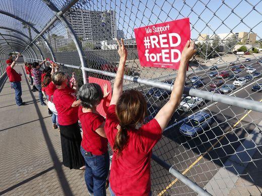 arizona teacher strike 2018
