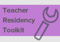 Teacher Residency Toolkit thumb