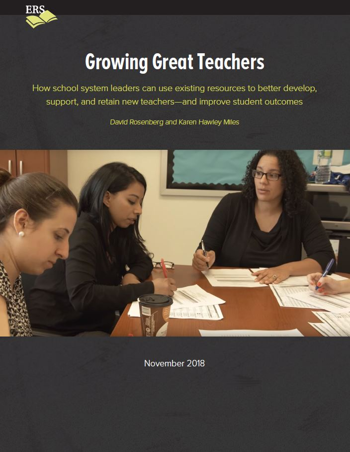 Growing Great Teachers - Cover Page