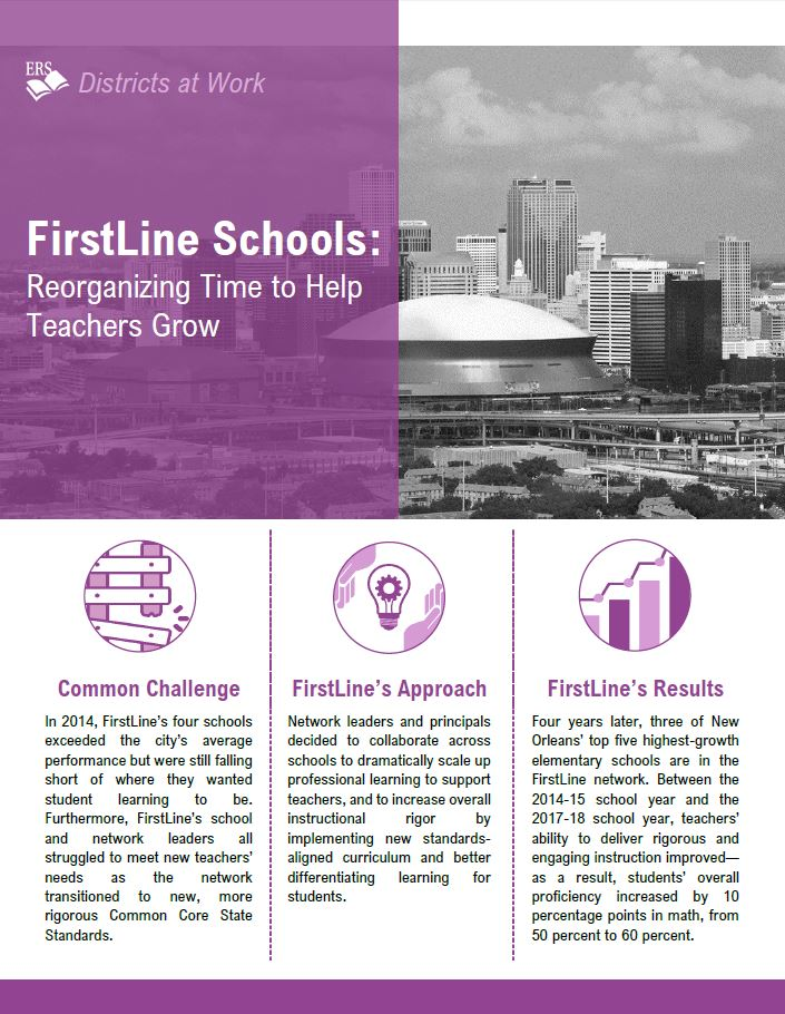 FirstLine Schools: Reorganizing Time to Help Teachers Grow
