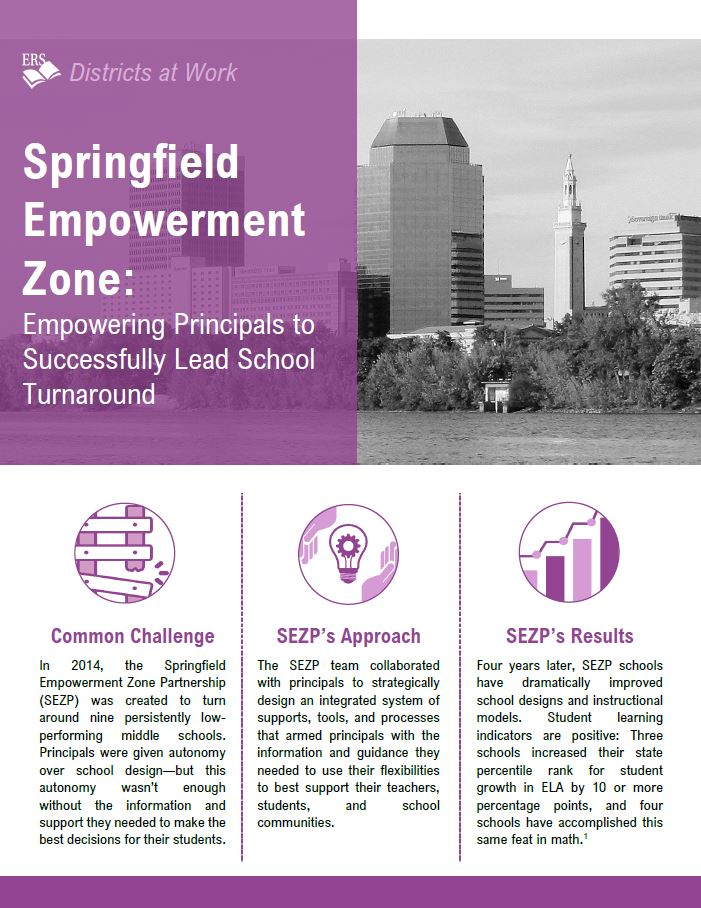 Springfield Empowerment Zone Partnership: Empowering Principals to Successfully Lead School Turnaround
