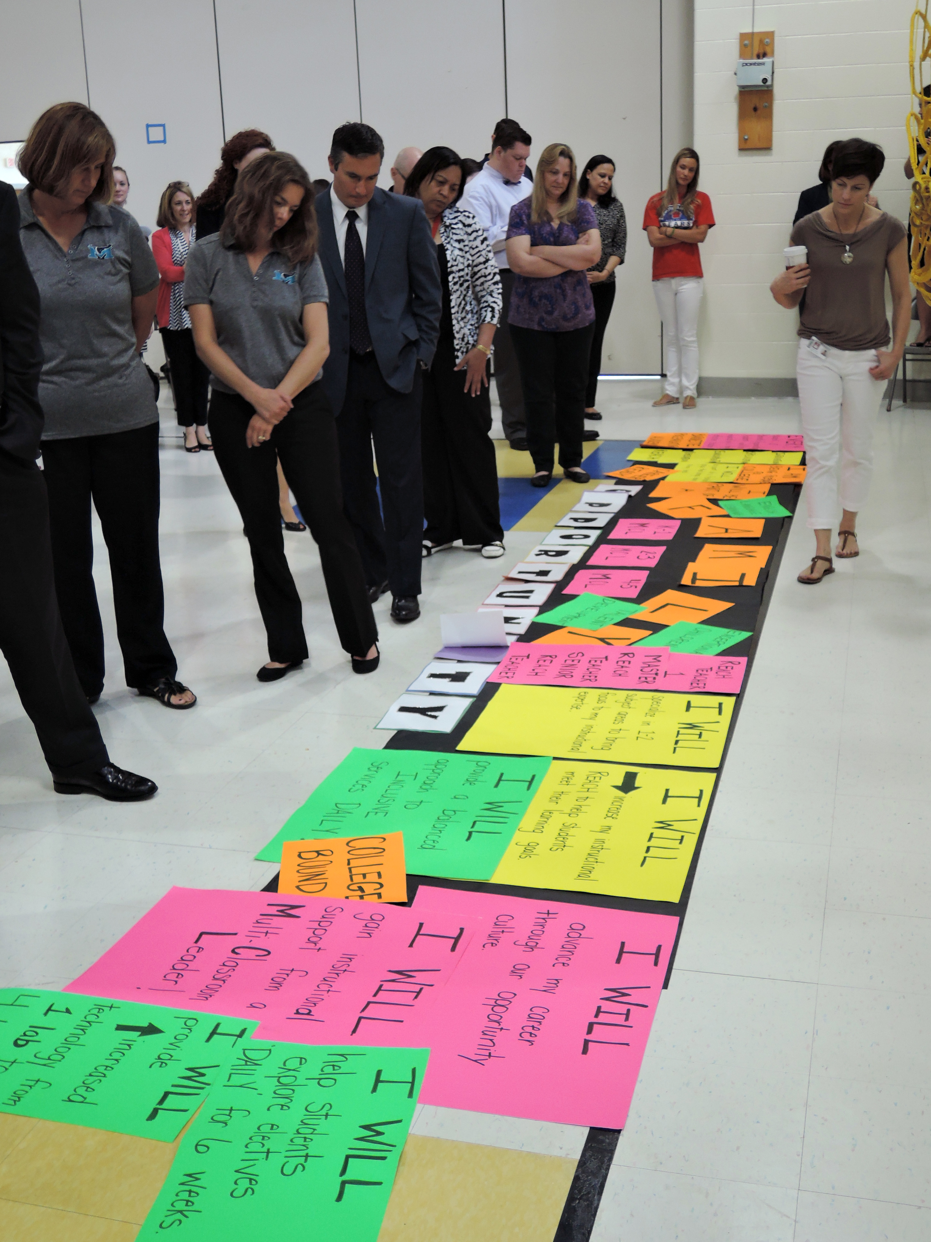 Charlotte school design meeting