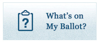 Whats on my Ballot