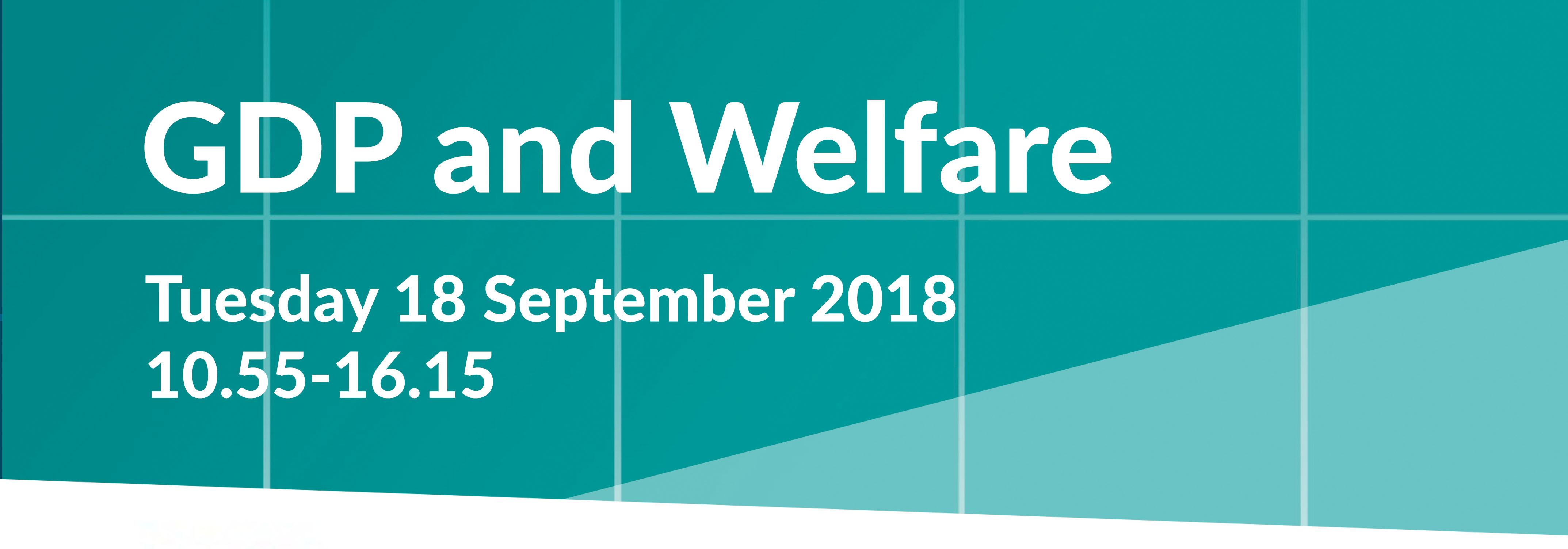 gdp&welfare