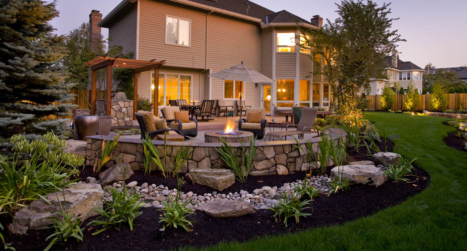 Emejing Big Backyard Design Ideas Photos - Mywhataburlyweek.com ...