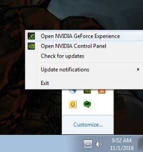 nvidia driver update notification