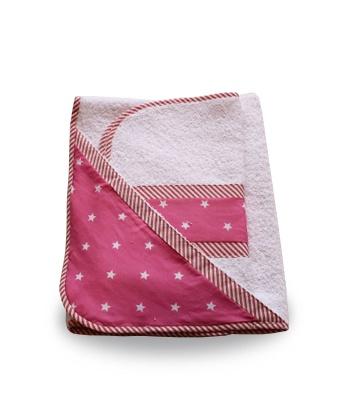 Juego de toallas Fucsia con estrellas blancas  - Usando SALE50 $ 279