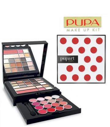Pupa Art Red Dots warm shades